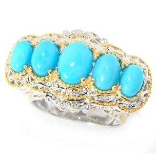 Michael Valitutti Sleeping Beauty Turquoise Ring