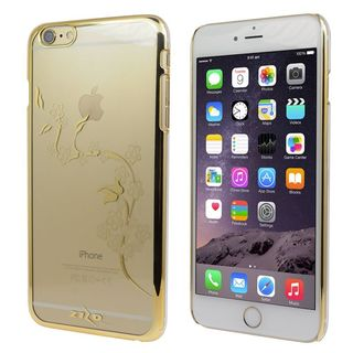 Insten Gold Vines Hard Snap-on Rubberized Matte Case Cover For Apple iPhone 6 Plus/ 6s Plus
