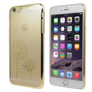 Insten Gold Dandelion Hard Snap-on Rubberized Matte Case Cover For Apple iPhone 6 Plus/ 6s Plus