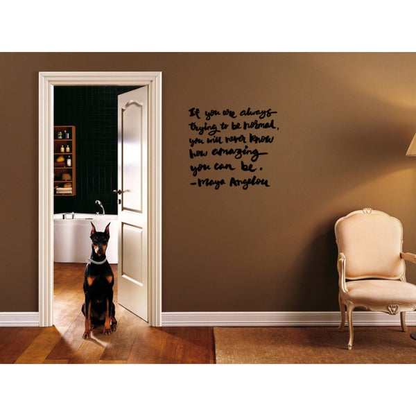 Expression How Amazing You Can Be Wall Art Sticker Decal