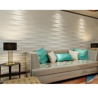 3D Wall Panels Plant Fiber Bridge Design (10 Panels Per Box)