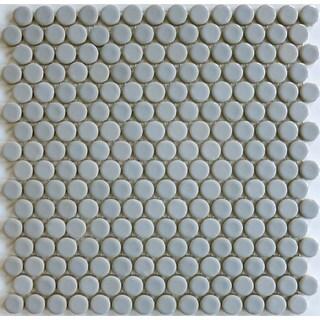 Gray Cashmere ModDotz Porcelain Penny Round