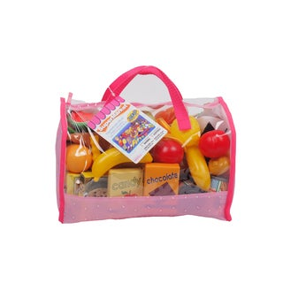 Gi-Go Toy 120 Piece Play Food in Carry Bag