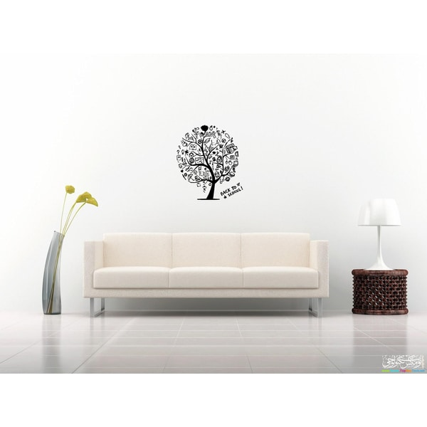 Wood design Knowledge is Power Wall Art Sticker Decal