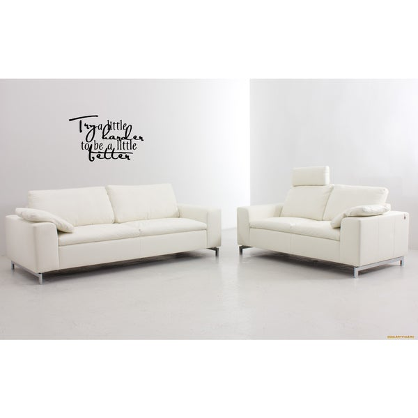 Try A Little Harder quote Wall Art Sticker Decal