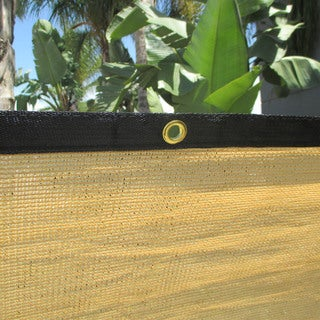 6' High x 50' Wide Tan Privacy Screen/ Windscreen