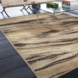 "Carolina Weavers Abstract Oak Multi Area Rug (5'3"" x 7'6"")"