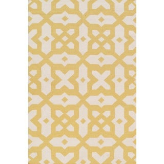 Pasargad Hand-Woven Sahara Reversible Kilim Wool Rug (9' x 12')