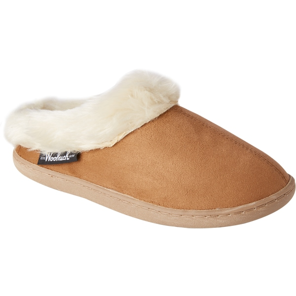 Woolrich Cabin Chestnut Lounger Slippers