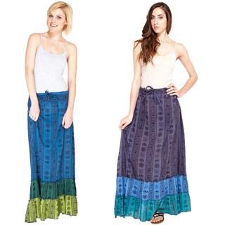 Om Mantra Dancing Gypsy Skirt (Nepal)
