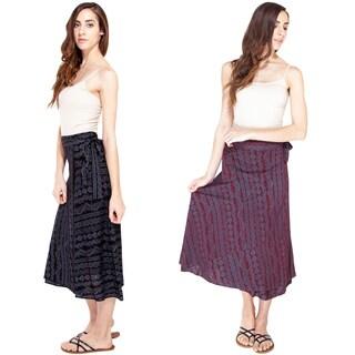 Goddess Waves Wrap Skirt (Nepal)
