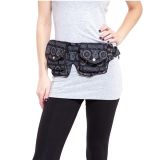 Owl Steampunk Triple Pouch Hip-pack (India)