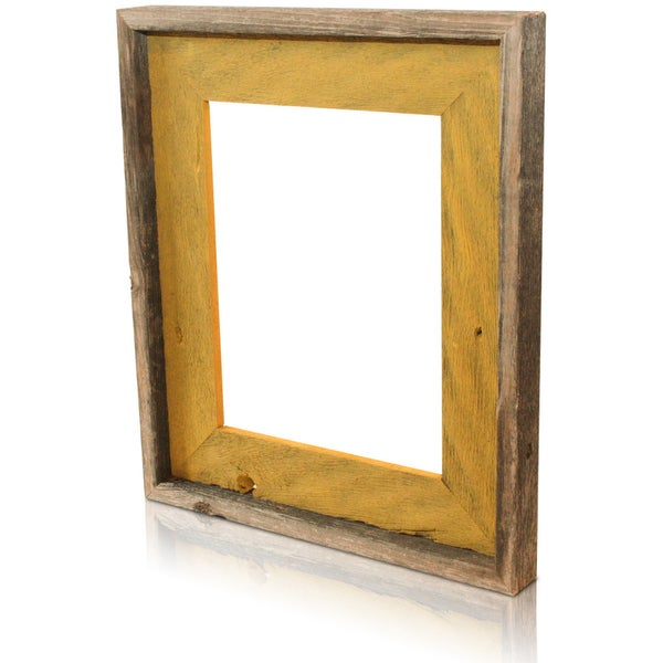 The Natural Mustard Recycled/ Reclaimed 4x6-inch Frame