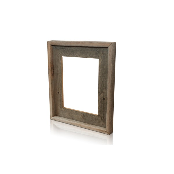 The Natural Pearl Grey Recycled/ Reclaimed 4x6-inch Frame