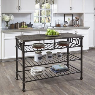 Richmond Hill Kitchen Island (Quartz or Wood Top)