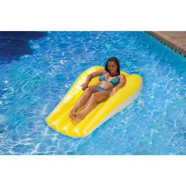 Poolmaster Suntanner Mattresses 2 pack Yellow