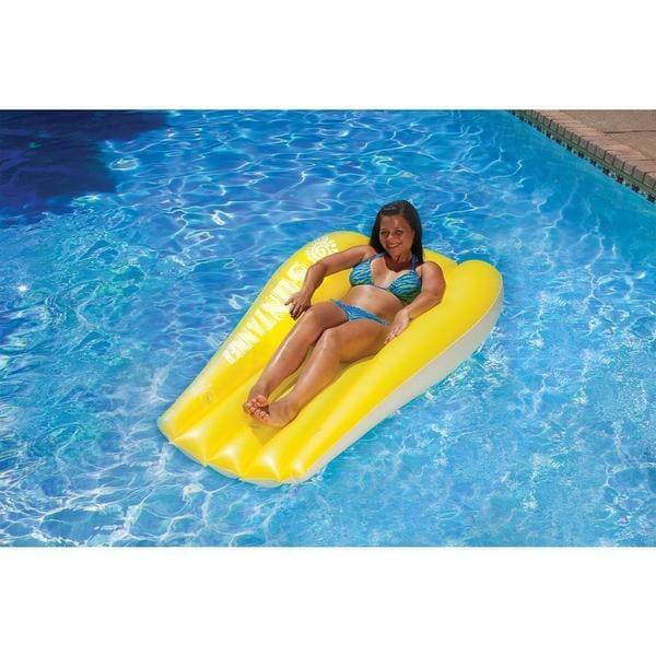 Poolmaster Suntanner Mattresses 2 pack Yellow