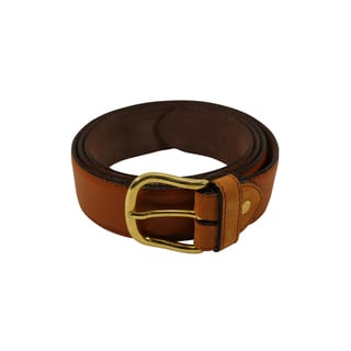 Fendissime Brown Leather Women's 42-inch Belt