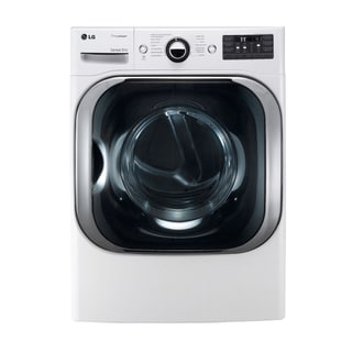 LG DLGX8001W 9.0-cubic Feet Mega Capacity Dryer with Steam Technology (Gas) in White