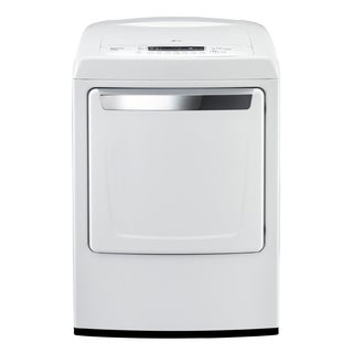LG DLG1102W 7.3-cubic Feet Ultra Large Capacity Top Load Dryer with Sleek Contemporary Design (Gas) in White