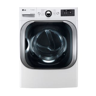 LG DLEX8000W 9.0-cubic Feet Mega Capacity Dryer with Steam Technology (Electric) in White