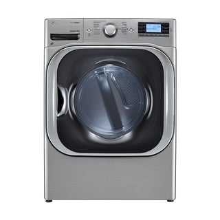 LG DLEX8500V Mega Capacity High Efficiency SteamDryer with NFC Tag On in Graphite Steel