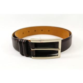 Claudio Orciani Brown Leather Women's 29-inch Belt