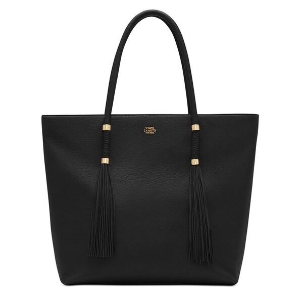 Vince Camuto Dessa Black Tote Handbag