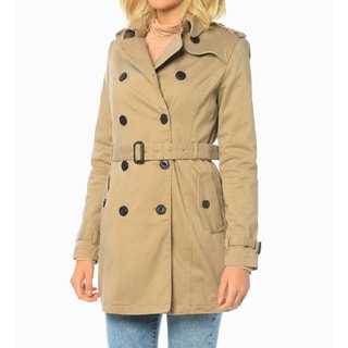 Mavi Jeans Women's Khaki Trench Coat