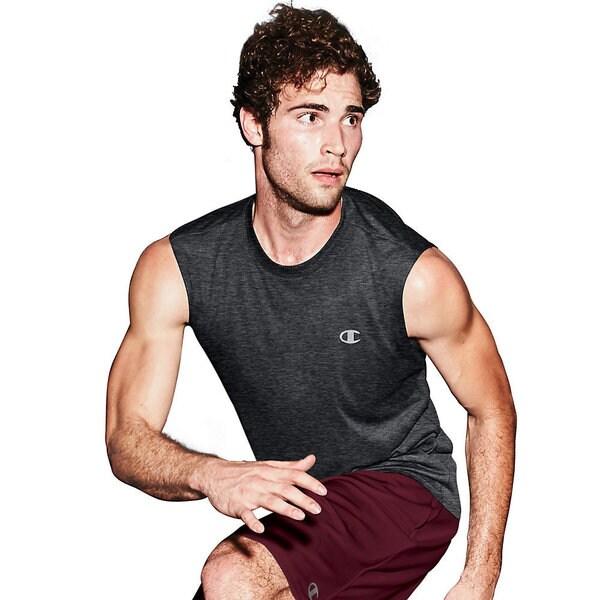 Champion Vapor Men's Heather Muscle T-Shirt 17804497