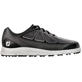 FootJoy Men's SuperLites Grey/ Black/ White Golf Shoes