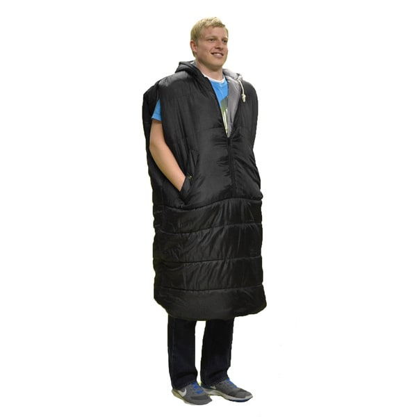 The Benchwarmer Wearable Sleeping Bag