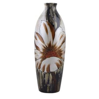D'Lusso Designs Deanna Design 12-Inch Ceramic Vase