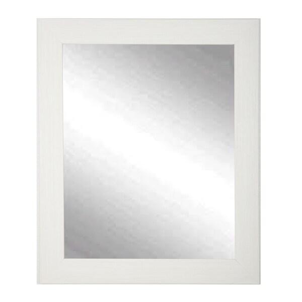 Oyster Grain Wall Mirror 27 x 32