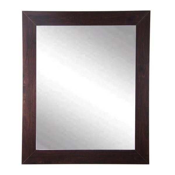 Walnut Wall Mirror 32 X 38