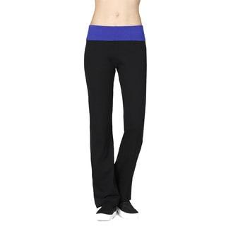 JED Women's Soft Comfy Cotton Spandex Yoga Athletic Pants