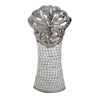 D'Lusso Designs Bling Design Nine Inch Contempo Vase