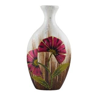 D'Lusso Designs Marisol Design Sixteen Inch Ceramic Vase