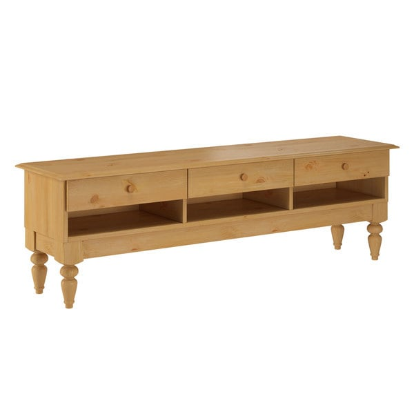 Wooden Lowboard TV Stand