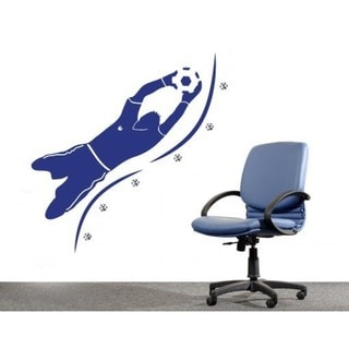 Goalkeeper Wall Hanger Decal Vinyl Art Home Decor