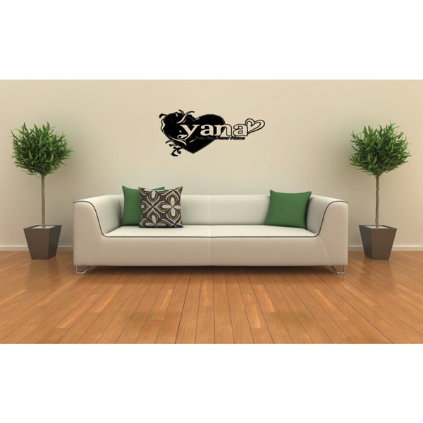 You are Never Alone quote Wall Art Sticker Decal