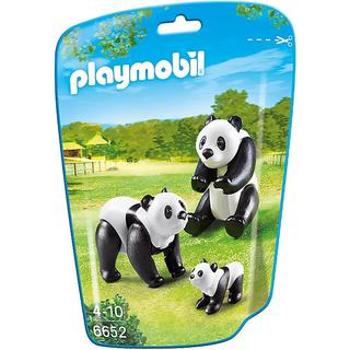 Playmobil Panda Family Building Kit