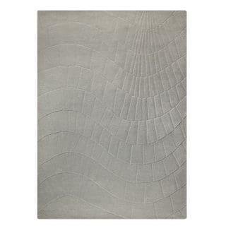 M.A.Trading Hand-Tufted Indo Terraza Grey Rug (5'6 x 7'10)