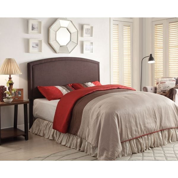 Blueridge Brown Upholstered Queen / Full Headboard