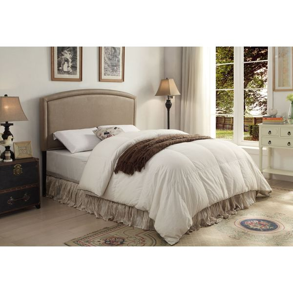 Blueridge Taupe Upholstered Queen / Full Headboard