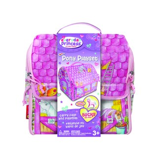 Neat-Oh ZipBin Everyday Princess 40 Pony Playset with 1 pony