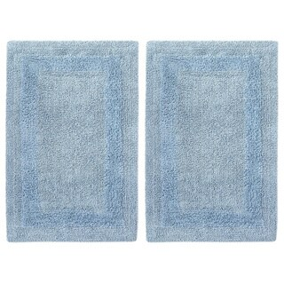 Celebration 2-piece Solid Reversible Bath Mat Set