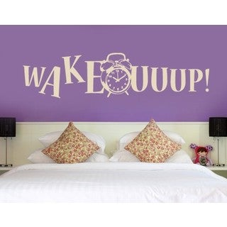 Wake Up! Wall Decal Vinyl Art Home Decor