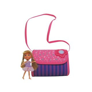 Neat-Oh Everyday Princess 4 Doll Princess Purse with 1 Doll