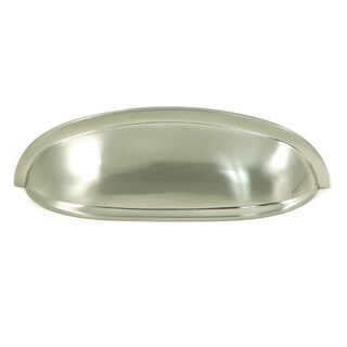 Satin Nickel Hudson Cup Pull (Pack of 10)